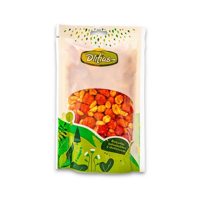 Mezcla-pika-fruti-pina-enchilada-cacahuate-cacahuate-enchilado