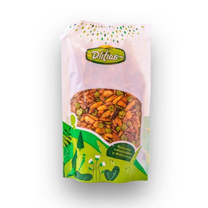 Mezcla pika loka - cacahuate chicharo pepita de girasol pepita de calabaza