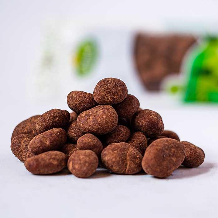 Arandano con cocoa botana saludable