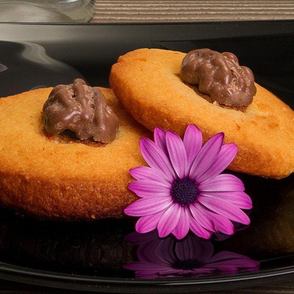 Galleta integral de nuez - Nuez con Chocolate